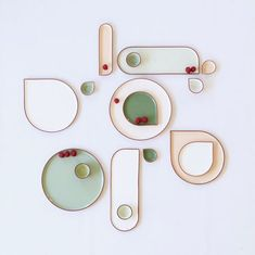 The new spring-collection 2017 of the ONA-tableware by ilona van den bergh – Ceramic custom Design Set, Plate Design, House Design, Ceramic Tableware, Ceramic Pottery, Ceramic Art, Slab Pottery, Ceramic Bowls, Kitchenware