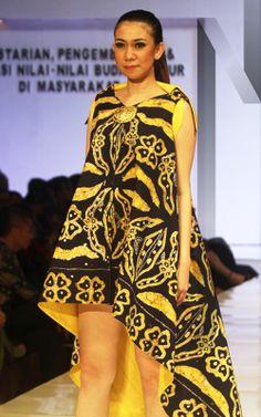 Gedangsari #10 | N-Style in #Yogyakarta #Fashion #Forecasting #2015 with #Batik created by junior high school students from the region Gedangsari, #Gunungkidul, Yogyakarta