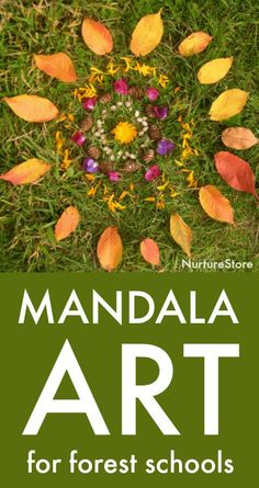 Let's celebrate nature and create outdoor art with these forest school mandala activities. Forest school mandala activities What is a mandala? A mandala is a circular symbol, often seen in… Forest Classroom, Outdoor Classroom, Outdoor School, Art Classroom, Forest School Activities, Nature Activities, Learning Activities, Indoor Activities, Summer Activities
