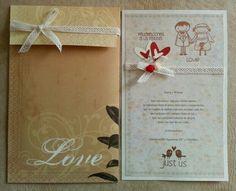 TARJETA de Felicitacion Matrimonio...