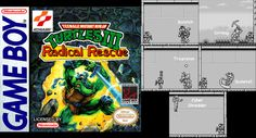 1993 saw another addition to the handheld universe, giving everyone a new adventure for the heroes in green. We are reliving Radical Rescue on Game Boy.  #TMNT #NinjaTurtles #GameBoy #Game