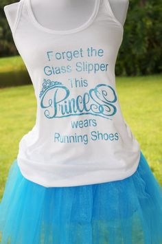Forget the Glass Slipper This Princess Wears Running Shoes.  #Rundisney #Princessmarathon