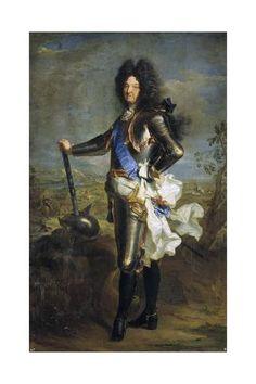 Louis XIV Bourbon King of France 1701 by Hyancinthe Rigaud Museo Nacional del Prado Madrid Louis Xiv, Roi Louis, French History, European History, Art History, Grand Dauphin, Ludwig Xiv, Tableaux Vivants, Chateau Versailles