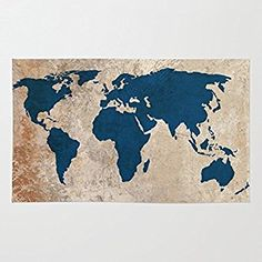 Amazon society6 another vintage world map rug 4 x 6 mj amazon society6 rustic world map rug 4 x 6 bysamantha gumiabroncs Images