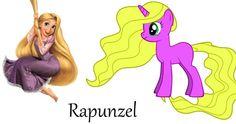 deviantART: More Like My Little Princess [Megara] by ~ScenePika.  Disney Princess's in MLP form.  Rapunzel, Merida, Mulan, Cinderella, Belle, Ariel and more....