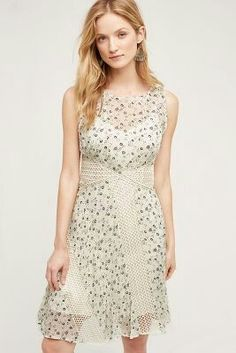 Windswept lace dress anthropology