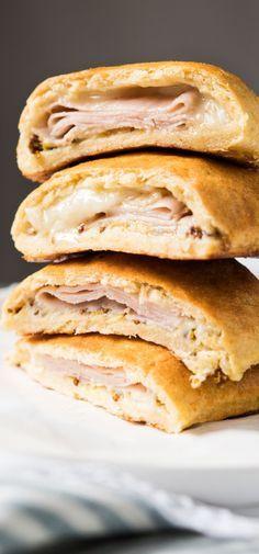 Gluten Free, Low Carb & Keto Hot Pockets #keto #lowcarb #glutenfree #ketobreakfast #hotpockets #healthyrecipes
