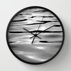 Water one Wall Clock by julieart Wall Clocks, Water, Home Decor, Gripe Water, Decoration Home, Chiming Wall Clocks, Room Decor, Interior Design, Home Interiors