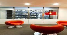 Relaxation area into the premises of IHS in Paris, France