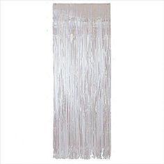 Foil Door Curtain, Iridescent | 1 ct