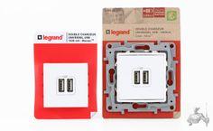 Double Chargeur USB Mosaïc LEGRAND