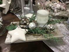 Adventsaustellung 2016 Adventsaustellung 2016 - Pin This Silver Trays, Xmas, Christmas, Table Decorations, Rose, Winter, Home Decor, Search Engine, Design