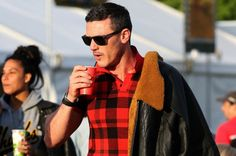 Check him out! Girl On The Train actor Luke Evans hits the Glastonbury Festival - Wales Online
