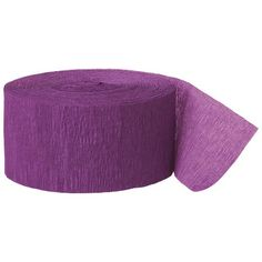 Party Streamer, 81-Feet, Purple Unique http://www.amazon.com/dp/B00AONIO56/ref=cm_sw_r_pi_dp_fkN3ub1EP5567