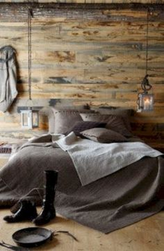 Awesome Industrial Bedroom Design Ideas For Unique Bedroom Style 233