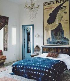 Indigo bedroom  Sour