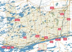 Ontario's Gardens to visit Trail Map