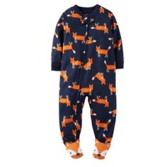 Carter's Fox Footed Pajamas - Toddler