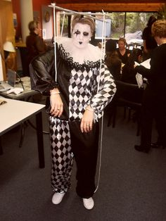 Pierrot puppet costume   Flickr - Photo Sharing!  sc 1 st  Pinterest & 19 best Pierrot images on Pinterest   Carnivals Costumes and ...