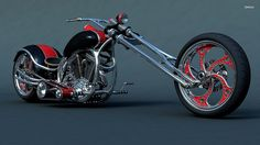 Sweet Harley Davidson Custom Chopper