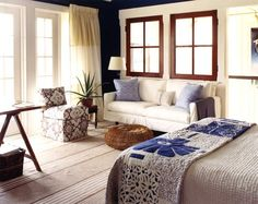 """Pure Style Home: bedroom by Tom Scheerer, """"There's a cheerful clutter to this pretty room that I love. Home Bedroom, Bedroom Decor, Bedrooms, Master Bedroom, Interior Decorating Tips, Interior Design, Decorating Ideas, Decor Ideas, Lauren Liess"""