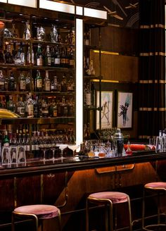 A classic American bar, serving traditional mixed drinks in the most glamorous, authentic Art Deco surroundings.