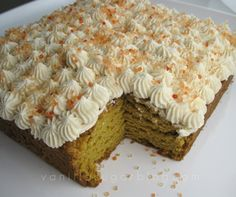 Pumpkin Bars with Cider-Cream Cheese Frosting