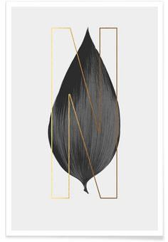 Plants N als Premium Poster von typealive | JUNIQE