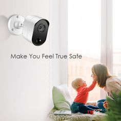 Ansjer Full HD Security Camera System, 4 Channel DVR Recorder with 4 HD. Security Monitoring, Home Camera, Security Camera System, 4 Channel, 20 Years, Cameras, Feelings, Camera, Film Camera