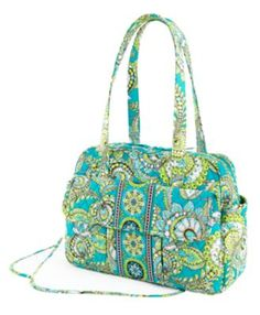 Vera Bradley in Peacock. I just want to cry everytime I think about how they discontinued this pattern :(