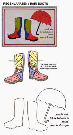 Irisvouwen: Regenlaarzen / Rain Boots