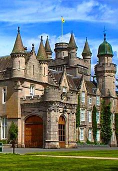 The Balmoral Castle in Scotland.