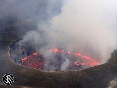 Volcano hiking in ea