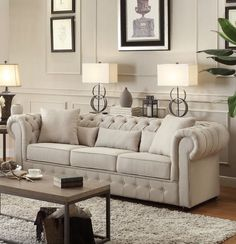 Pearlie Chesterfield Sofa