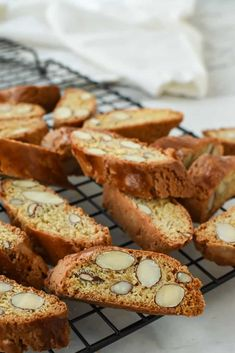 Learn how to make biscotti with my tried and tested recipe. Making homemade biscotti is not very hard to do, even for a beginner baker. My Italian family Italian Cookie Recipes, Italian Cookies, Italian Desserts, Gourmet Recipes, Baking Recipes, Italian Almond Biscotti Recipe, Recipe For Biscotti, Lemon Biscotti, Okra Recipes