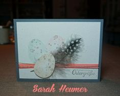 Diy Wedding Shoes, Stampin Up, Deco, Cards, Handmade, Card Crafts, Bricolage, Easter Activities, Hand Made