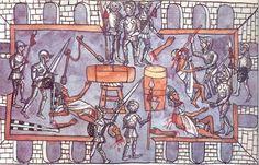 Matanza templo2 - Tlacuilo - Wikipedia, la enciclopedia libre