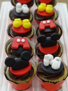 Cupcakes tema Mickey!!!