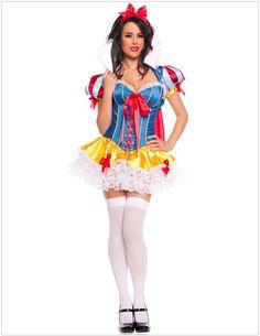 b3fdb8b4f01f Snow White Deluxe Costume Sexy Snow White Costume