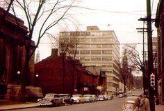 Ottawa Street ca Cheap Lipstick, Ottawa, Ontario, 1950s, Urban, History, Street, Building, Photos
