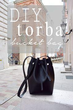 DIY – How to sew a sack bag? Bucket Bag, Fendi Spy Bag, Bucket Handbags, Marc Jacobs Handbag, Crossbody Messenger Bag, Sling Backpack, Diy Handbag, Sack Bag, Jute Bags