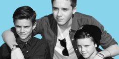 Did the Beckham brothers just make their cutest red carpet appearance yet?