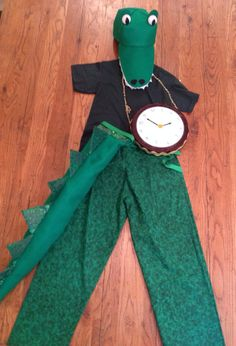 Tick Tock Croc Costume Set by SeeSalSew on Etsy