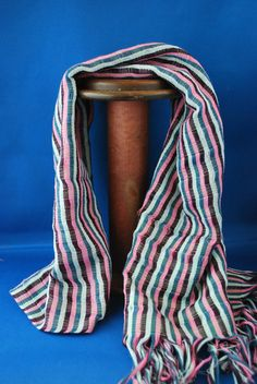 Do you love stripes as much as me? This Vietnamese scarf is so cool Scarves, Stripes, Cool Stuff, Fashion, Scarfs, Moda, Fashion Styles, Fasion, Line Art