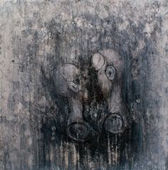 Fine Art ORIGINAL Surreal Oil & Charcoal Painting by DivineMania, $399.99