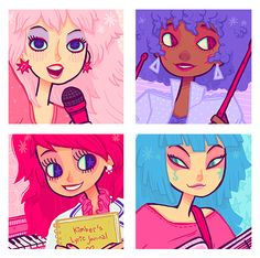 Jem and the Holograms by Wislo