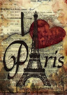 I love Paris instant download by SharonHArtDesigns on Etsy