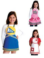 Dress up aprons pattern from Annie's Crafts. $8.99
