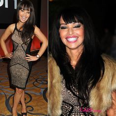 Katie Piper Lacey print bandage dress - $139 by Celebdressy | Katie Piper stunned at the Daily Mail Woman of the Year Awards in her black lace bandage dress. The award winner known for her relentless charity campaigning, donned the frock with gorgeous chestnut brown locks, smokey eyes and black peep toe heels. Ms Piper's figure looked sensational in this... | #Dresses