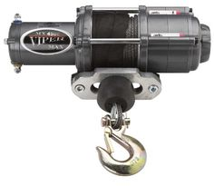 Viper Max 4500lb ATV Winch  Custom Mount for Honda Foreman TRX Models with BLACK AmSteelBlue Synthetic Rope -- More info could be found at the affiliate link Amazon.com on image.